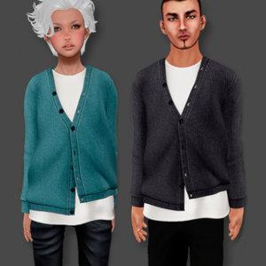 male female sweater model