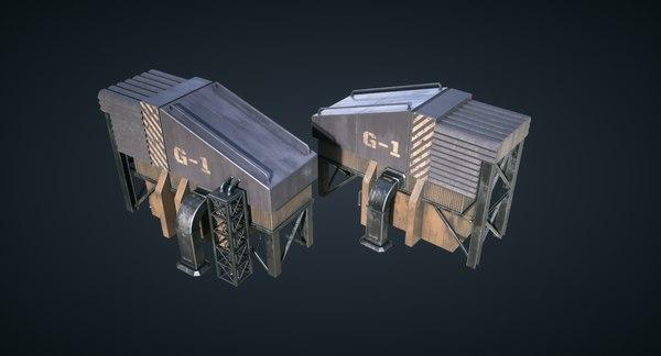 games generator 3D model