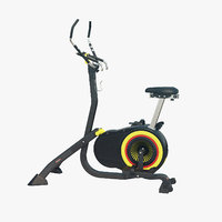 stationary bicycle 3D