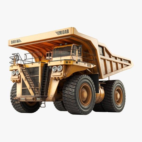 big dump truck model