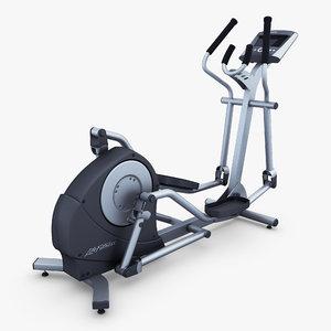 life fitness x1 advanced 3D