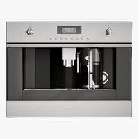 3D realistic coffee machine classic
