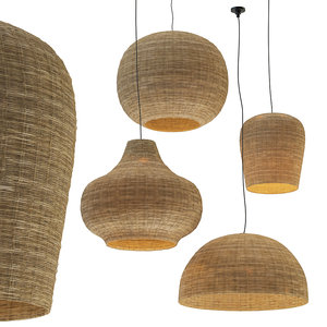 chandeliers rotang set pendant light model