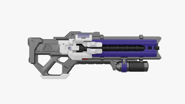 3D soldier 76 s rifle