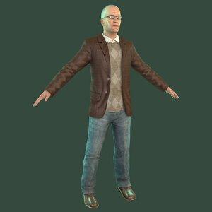 professor man model