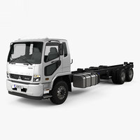mitsubishi fuso fighter 3D