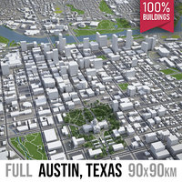 Austin - city and surroundings