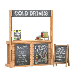 drinks stand 3D model