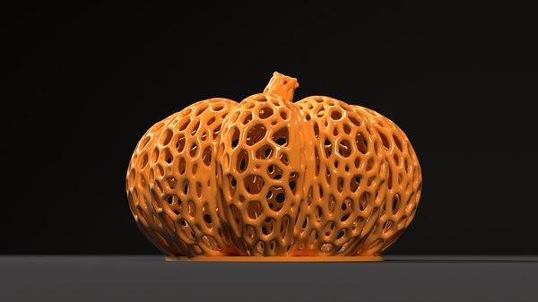 3D printing pumpkin halloween