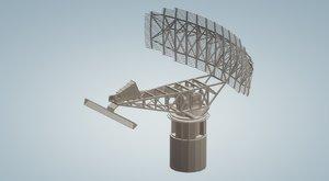 3D sps 49 radar ships