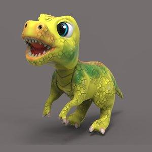 baby rex 3D