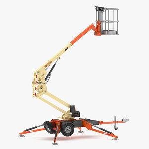 3D jlg lift boom model
