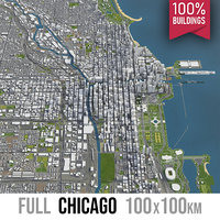 Chicago - city and surroundings