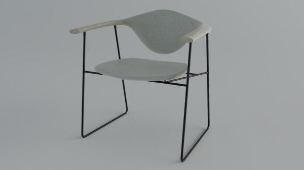 modern chair 3D
