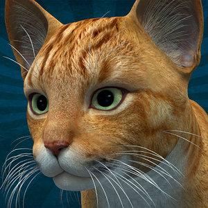 cat anml 3D model
