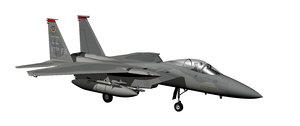 3D f-15c eagle