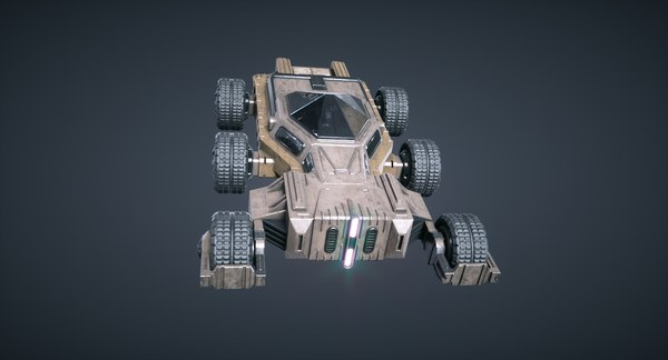 games mars kitbash - 3D