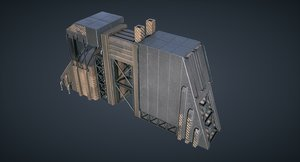 3D ready mars kitbash -
