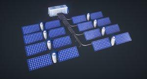 4k mars kit solar 3D