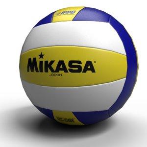 3D volleyball ball