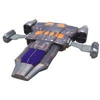 bomber unity 3D model