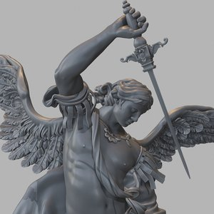 statue angelo 3D model