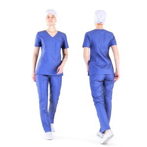 photogrammetry woman surgical nurse 3D model