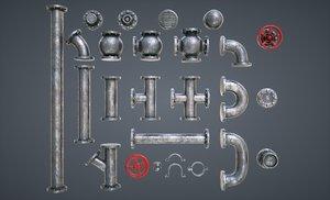 3D modular pipes