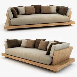3d model bonetti kozerski - lounge