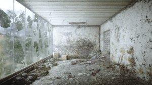 3D model chernobyl abandoned room