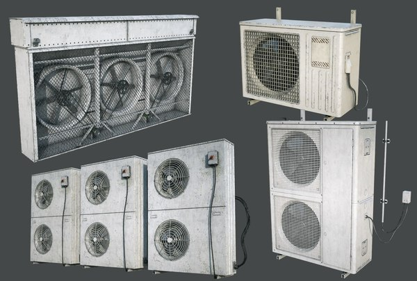external vents pack fan model