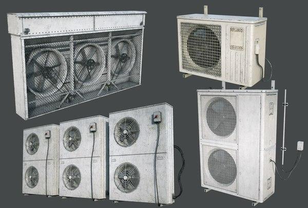 external vents pack fan model