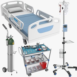 3D real medical equipment model