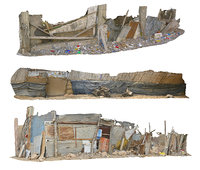 African Slums Scan Pack 3
