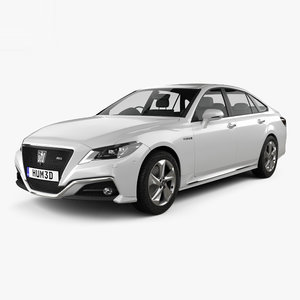toyota crown rs 3D model