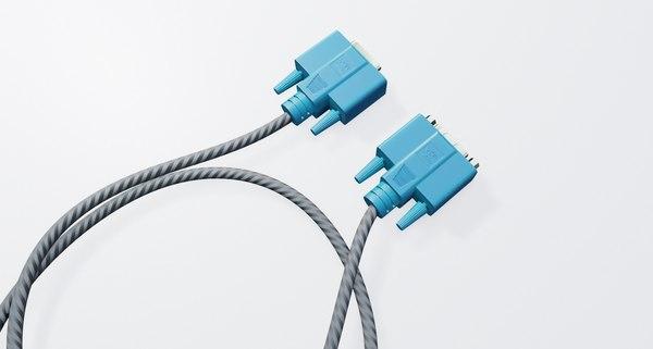 vga connector computer model