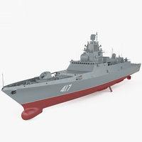 admiral gorshkov class 3D model