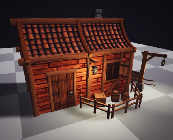 stylized fantasy modular pack 3D