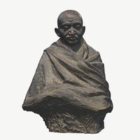 sheridan busts scanned 3D model