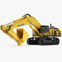Tracked Excavator Komatsu PC1250 PC 1250 construction equipment