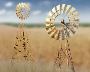 wind generator 3D