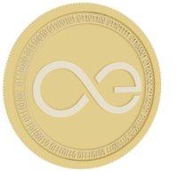 3D aeternity gold coin