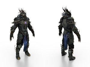 body armor phoenix 3D model