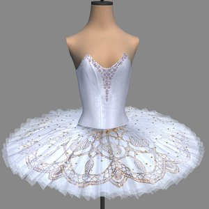 tutu ballet nutcracker 3D