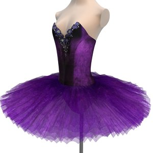 tutu ballet sleeping beauty 3D model