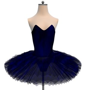 tutu ballet sleeping beauty model