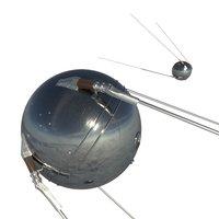 3D sputnik 1