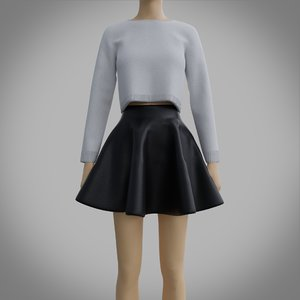skater outfit - sweater model