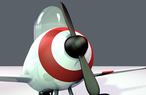 airplane toy avion juguete 3D