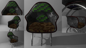 chair version 0 1 3D model